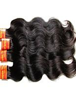 Недорогие -7a малайзийские remy выдвижения человеческих волос ткут 4 пучка 200g много дешевого малайзийского тела волна virgin волос естественный