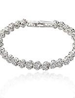 Women's Tennis Bracelet Heart Classic Zircon Jewelry For Wedding Party