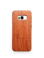 Case For Samsung Galaxy S8 Plus S8 Shockproof Back Cover Solid Color Hard Wooden for S8 Plus S8 S7 edge S7 S6 edge plus S6 edge S6 S6