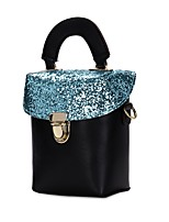 Women Bags All Seasons PU Tote Zipper for Event/Party Casual Blue Gold Black Silver