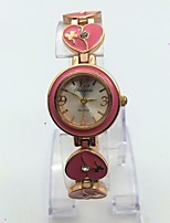 Women's Wrist watch Fashion Watch Quartz Alloy Band Casual Rose Gold