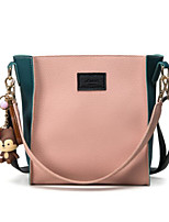Women Lunch Bag Canvas All Seasons Round Zipper Blushing Pink Red Green