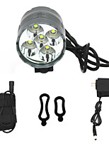 ANOWL Bike Lights 5000 lm 3 Mode Cree XM-L T6 with Battery , Charger & Adapter Easy Carrying High Quality Cycling/Bike