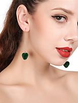 Women's Drop Earrings Hoop Earrings Tassel Love Plush Heart Jewelry For Party Christmas