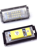 LED License Plate LED Lamps Waterproof Tag Bulb for BMW