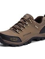 Chaussures de Course Chaussures de montagne Homme Antidérapant Etanche Vestimentaire Respirabilité Sport de détente Basses Cuir Caoutchouc