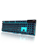 A-Jazz AK6 Gaming Keyboard Mechanical Touch Backlight19Key Anti-ghosting
