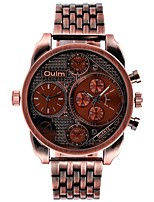 cheap -Men's Unique Creative Watch Quartz Copper Band Vintage Black Red Bronze