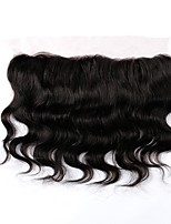 Remy Brazilian Natural Color Hair Weaves Body Wave Hair Extensions 1pc Black