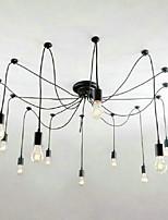 Modern/Comtemporary Nature Inspired Traditional/Classic Chandelier For Living Room Indoors Shops/Cafes 220V-240V 110-120V Bulb Not