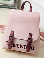 Women Bags All Seasons PU Shoulder Bag Buttons for Casual Blue Black Blushing Pink