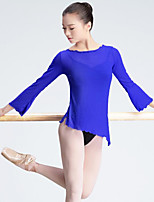 Danza classica Per donna Esibizione Tulle Maniche lunghe Top