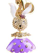 Key Chain Toys Rabbit Novelty Animal Unisex Pieces