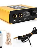 Pédales Tattoo Machine Alimentation numérique pouvoir professionnel Clip Cord Interrupteur au pied Fiche d'alimentation