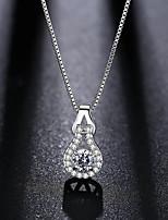 Жен. Ожерелья с подвесками Цирконий Стразы Свисающие Стразы Бижутерия Назначение Свадьба Для вечеринок