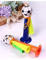1pcs tre tubi che incoraggiano i corni di corno del calcio del calcio di gioco del calcio del carnevale di gioco del calcio dei giochi di ramdon