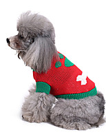 Dog Sweater Dog Clothes Casual/Daily Bone Costume For Pets