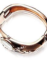 Damen Modeuhr Armbanduhr Quartz Legierung Band
