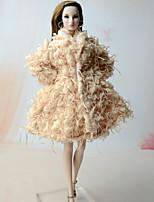 Boleros Top por Muñeca Barbie  Chaqueta por Chica de muñeca de juguete
