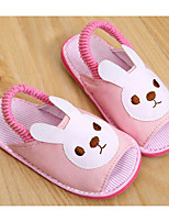 Girls' Shoes Fleece Fall Winter Comfort Slippers & Flip-Flops For Casual Blushing Pink