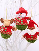 Animaux Inspiration Bonhomme de Neige Santa Motif de flocon de neige Mots& Citations Vacances Nature morte Noël SoiréeForDécorations de