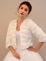 Faux Fur Wedding Party / Evening Women's Wrap Shrugs