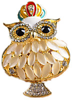 Key Chain Toys Owl Animal Unisex Pieces