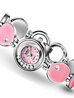 Women's Fashion Watch Quartz Alloy Band Blue Silver Pink