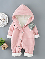 Baby Fashion Vintage One-Pieces,Cotton Polyester Fall Winter