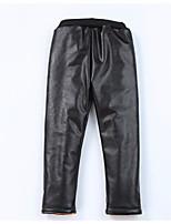 Pantalons Fille Couleur Pleine Autres Hiver