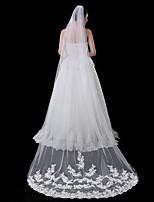 One-tier Fashionable Jewelry Lace Applique Edge Mesh Convertible Dress Euramerican Bridal Long Sequins Headpieces Accent/Decorative