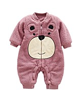 Baby Animal One-Pieces,100%Cotton Winter