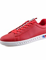 Men's Shoes PU Spring Fall Comfort Sneakers For Casual Red Black White