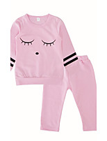 Baby Girls Daily Daily Print Clothing Set
