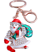 Key Chain Toys Santa Suits Unisex Pieces