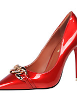 Women's Shoes PU Spring Fall Basic Pump Heels For Casual Party & Evening Nude Red Black White