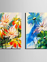Two Panels Canvas Vertical Print Wall Decor For Home Decoration