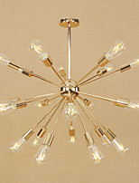 Retro/Vintage Country Modern/Contemporary Chandelier For Living Room Hallway Shops/Cafes AC 110-120 AC 220-240V Bulb Not Included
