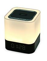 DY28 Stile Mini Bluetooth Luci Bluetooth 4.0 AUX 3.5mm USB Casse acustiche da supporto o da scaffale Bianco