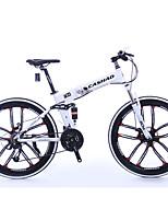 Pre-Sale Mountain Bike Folding Bike Cycling 21 Speed 26 Inch/700CC SHIMANO Oil Disc Brake Suspension Fork Aluminium Alloy Frame Folding Aluminium