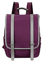 Women Bags All Seasons Nylon Shoulder Bag Pockets Zipper for Casual Blue Black Purple