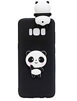 Case For Samsung Galaxy S8 Plus S8 Pattern DIY Back Cover 3D Cartoon Panda Soft TPU for S8 S8 Plus S7 edge S7 S6 edge S6