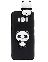 Hülle Für Samsung Galaxy S8 Plus S8 Muster Heimwerken Rückseitenabdeckung 3D Zeichentrick Panda Weich TPU für S8 S8 Plus S7 edge S7 S6