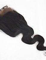 13*4 Lace Frontal Natural Black Color Huaman Hair Lace Frontal Body Wave