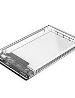 orico 2139c3 2.5 pouces usb 3.0 micro b boîtier de disque dur - usb 3.0 micro b transparent