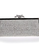 Women Bags All Seasons Special Material Evening Bag Bow(s) for Wedding Event/Party Silver