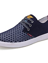 Men's Shoes Tulle Spring Fall Comfort Sneakers For Casual Blue Green Yellow Gray