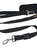 Dog Leash Car Seat Harness/Safety Harness Reflective Solid Nylon