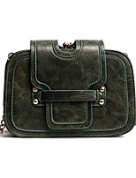 Women Bags PU Crossbody Bag Zipper for All Seasons Black Blushing Pink Gray Dark Green Brown