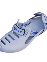 Herren Schuhe PU Frühling Herbst Komfort Sandalen Für Normal Schwarz Grau Blau